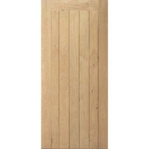 External solid oak door framed ledged and braced ebay for Solid oak external doors