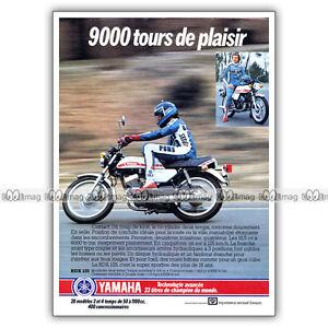 pub yamaha rdx 125 125rdx rdx125 avec patrick pons advert publicit moto 1978 ebay. Black Bedroom Furniture Sets. Home Design Ideas