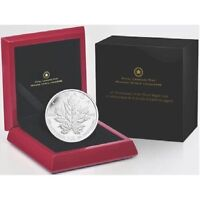 5 oz Silver Coin - 25th Anniversary of the Silver Maple Leaf
