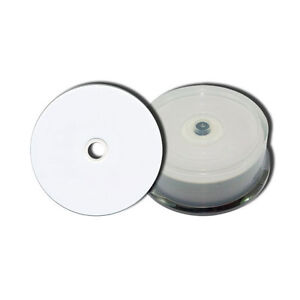 100 Full Face Printable Dual Layer DVD+R DL Discs 8.5GB 240Min Discs