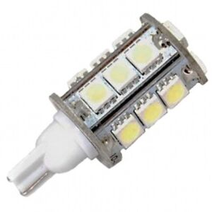 T10 Wedge Base 18 SMD LED Bulb Replacement for 194 921 ...