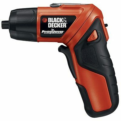 Black & Decker PIVOTDRIVER™ Cordless Rechargeable Screwdriver - PD400LG on Rummage