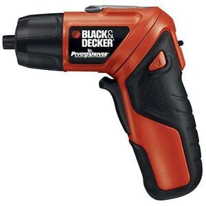 Black-Decker-PIVOTDRIVER-Cordless-Rechargeable-Screwdriver-PD400LG
