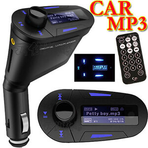 Neu FM Transmitter MP3 Player für 12-24V Auto PKW LKW Car Radio SD TF USB-Stick