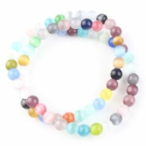 2strings-111880-New-Wholesale-Multicolor-Round-Charms-Opal-Gemstone-Beads-6mm
