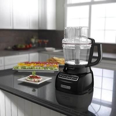 Kitchenaid 13-cup 3.1l Wide Mouth Food Processor Black Kfp1333ob Big Large on sale