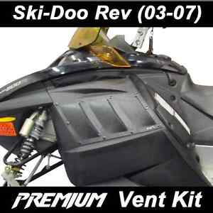 SKI-DOO REV (03-07)  Proven Design Products PREMIUM Vent Kit