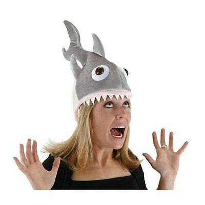 Elope Man Eater Shark Piranha Fish Hat Cap Costume Adjustable Adult Kids