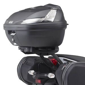 KAWASAKI ER6 GIVI BLADE TECH TOP BOX CASE + GIVI 4104FZ MONORACK TOPBOX CARRIER