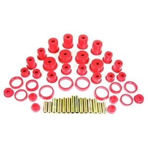 Prothane-1984-2001-Jeep-Cherokee-Complete-Suspension-Bushing-Inserts-Kit-Red