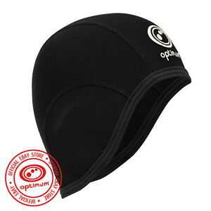 Optimum-Cycling-Thermal-Bike-hat-Skull-Cap-Helmet-Liner-Black