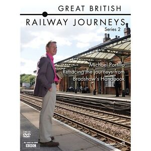 Great British Railway Journeys: Series 2 DVD NEW SEALED - Michael Portillo