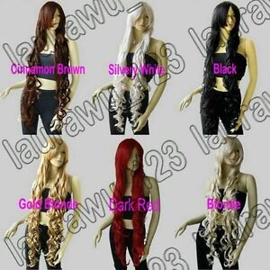 40-in-Long-Bangs-All-Color-Heat-Resistant-Curly-Cosplay-Wig-Free-Shipping-36G