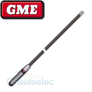 GME NEXTG & GSM DIGITAL MOBILE PHONE ANTENNA 6DB HI GAIN BULL BAR GREY AT6DBG