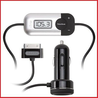 Griffin iTrip Auto Fm Transmitter with SmartScan Car Charger for iPod iPhone 4S on Rummage