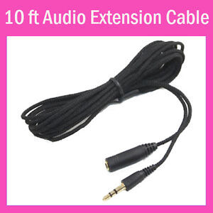 3.5mm Headphone Earphone Stereo Audio Female To Male Extension Cable Cord 4 MP3