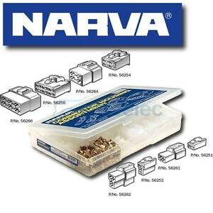 NARVA-56250-CONNECTOR-PLUG-KIT-ELECTRICAL-CABLE-WIRE-MALE-FEMALE-ASSORTMENT