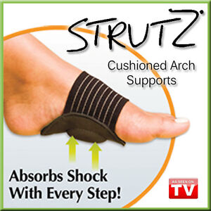 STRUTZ-Sole-Angel-Cushioned-Arch-Supports-Shock-Absorbing-As-Seen-on-TV