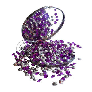 1000-Purple-Silver-Diamond-Confetti-Wedding-Decoration-Table-Crystal-4-5mm-1-3ct