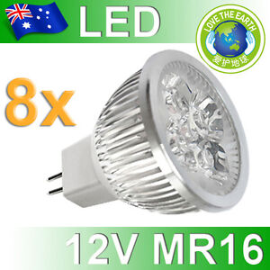 8x-6W-MR16-12V-LED-Downlights-Cool-White-Spot-Light-Bulb-Globe