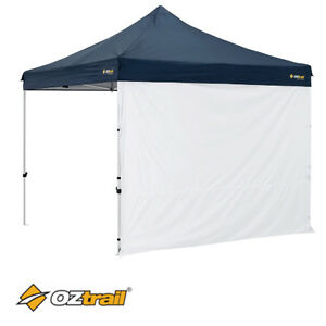2 x OZTRAIL  GAZEBO SOLID SIDE WALL FOR 3x3m DELUXE AND STANDARD GAZEBO