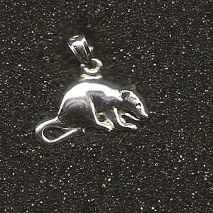 MOUSE-RAT-charm-925-sterling-silver
