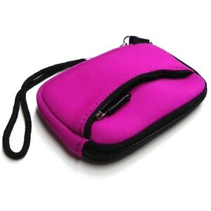 Pink Sleeve Carrying Camera Case Nikon COOLPIX SO1 Digital Camera