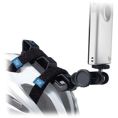 Flip Video Aat1b Bike Helmet Mount Tripod Fo Minohd 3 Ultra Iii Hd 2 Ii 120 Mino