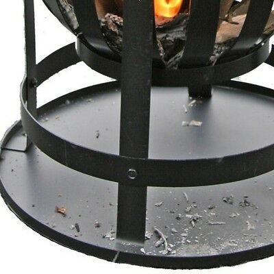 Gardeco Large Outdoor Steel Brazier Patio Garden Fire Basket BBQ Grill & Tray