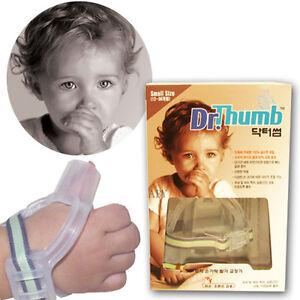 Dr-Thumb-Thumb-Guard-Stop-Thumsucking-Treatment-Kit-Sucking-Baby-Child-Genuine