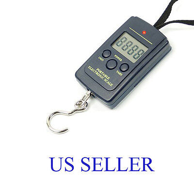 20g-40Kg Digital Hanging Luggage Fishing Balance Pocket Weight Scale on Rummage