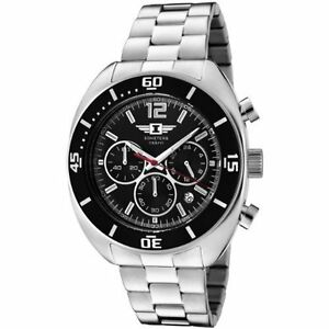 Invicta-Mens-Chronograph-Black-Dial-Stainless-Steel-Date-I-Watch-90232-001