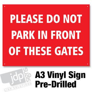 NO-PARKING-GATES-RIGID-PLASTIC-A3-VINYL-SIGN