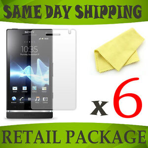 MATTE-6-screen-protectors-for-mobile-phone-Sony-Ericsson-experia-S-LT26i