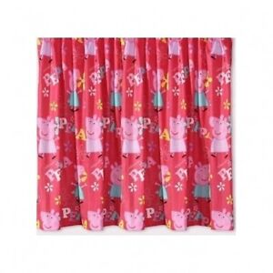 Peppa-Pig-George-Adorable-66-X-72-Drop-Curtains-Pair-Matches-Duvet-Gift-New