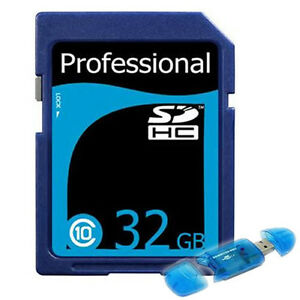 32GB-Class-10-SD-HC-SDHC-High-Speed-Professional-Flash-Memory-Card-USB-Reader