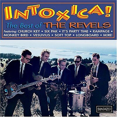 THE REVELS Intoxica! The Best of LP NEW SEALED RARE VINYL SURF INSTRUMENTAL