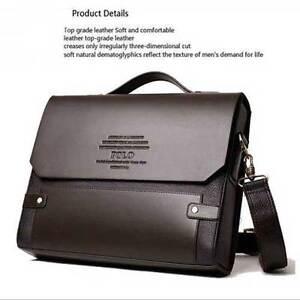 New-Business-Cool-Mens-Leather-Shoulder-Messenger-Briefcase-Bag-Bookbag-Purses