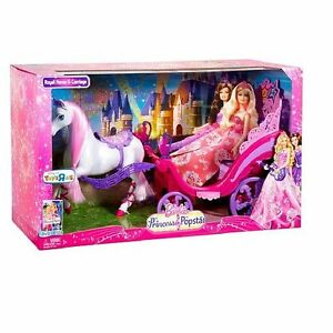 Barbie horse carriage ebay - Grande maison de barbie ...
