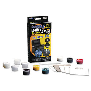 leather vinyl touch up repair restore kit no heat chair recliner car