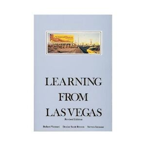 NEW Learning from Las Vegas - Venturi, Robert/ Brown, Denise Scott