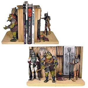 Star Wars Jabba's Palace Bookends Statue - Sculpture Figure NEW Gentle Giant