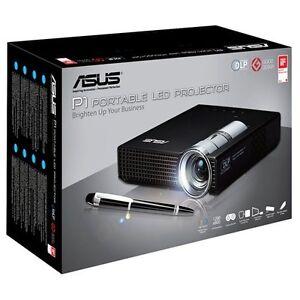 Asus p1 portable ultra light led hd dlp p1led pico for Hd pico projector