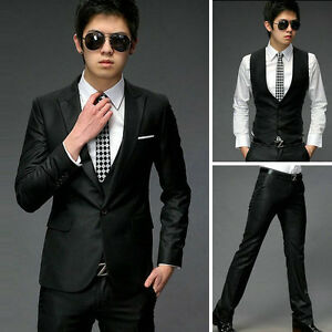 1Pcs-Business-Mens-Slim-Fit-Stylish-Formal-dress-suits-Blazer-Vest-Pan-ts-Z019