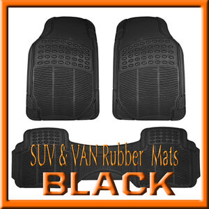 LEXUS-RX400H-450H-ALL-WEATHER-SEMI-CUSTOM-BLACK-RUBBER-FLOOR-MATS-3PCS