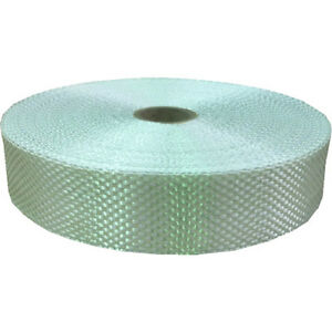 Fibreglass Open Weave Woven Cloth Tape For Polyester & Epoxy Resins 25mm x 50m