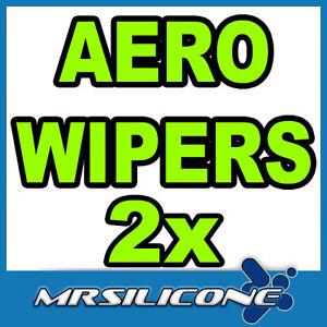 24-22-Front-Aero-Exact-Fit-Flat-Wiper-Blades-Beam-Car-Window-Windscreen-New