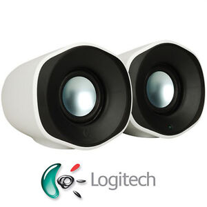 Logitech Stereo USB Portable Speakers Z110 For PC Laptop Mac 3.5mm Plug