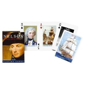 Piatnik Nelson, His Navy, Life & Times Playing Cards