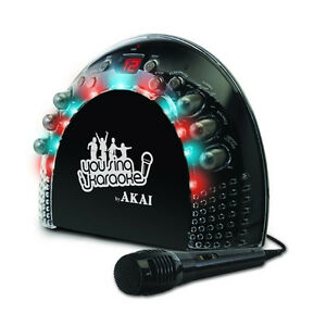 New-Akai-KS-201-Front-Load-Karaoke-System-with-LED-Light-Effects-and-AM-FM-Radio